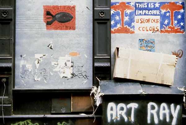 Early Street Art history NYC New York 1980s