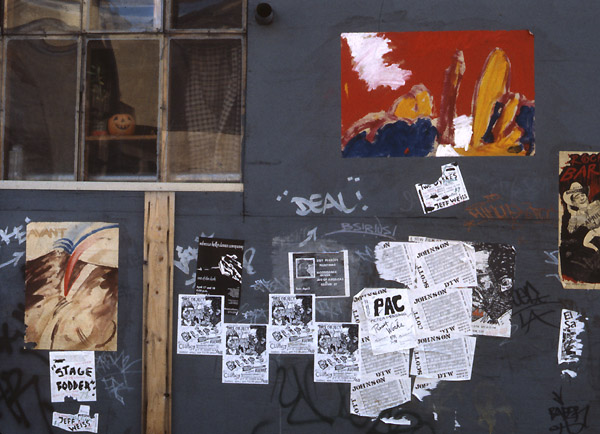 Early Streetart NYC New York 1980s