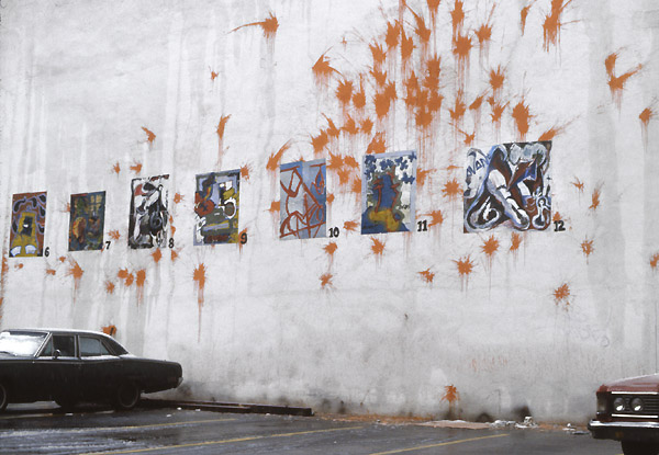 1980's Street Art archive SoHo New York