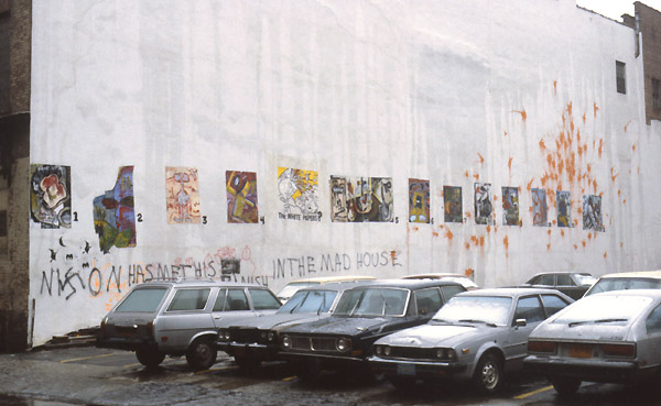 History 1980's Street Art archive NYC New York