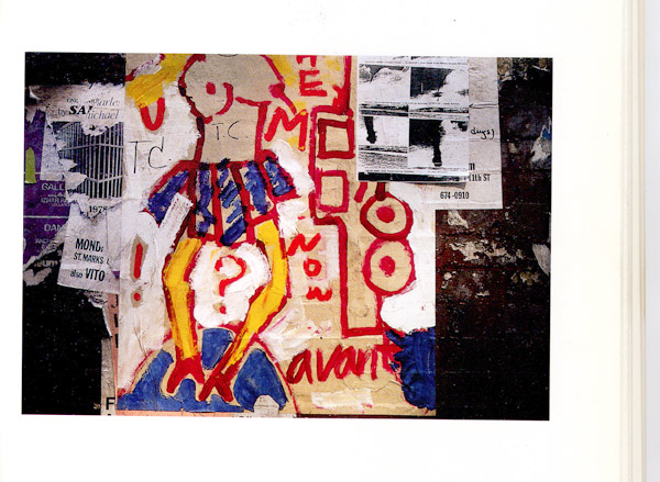 Soho Walls - Beyond Graffiti, 1996, by David Robinson.